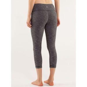 Lulu Wunder Under Crop Coco Pique Skinny Yoga Pant
